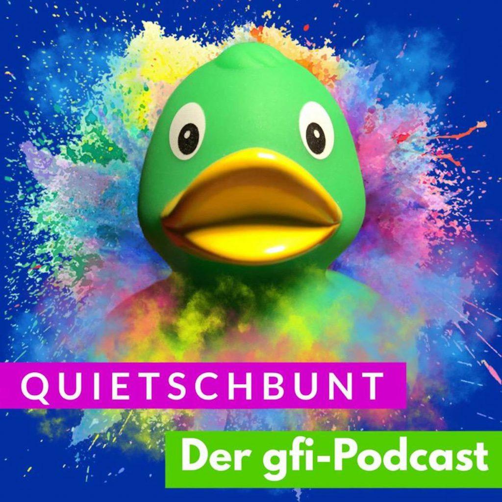 Podcast-Logo der gfi herne