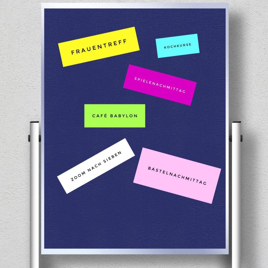 Flipcharts mit Ideen